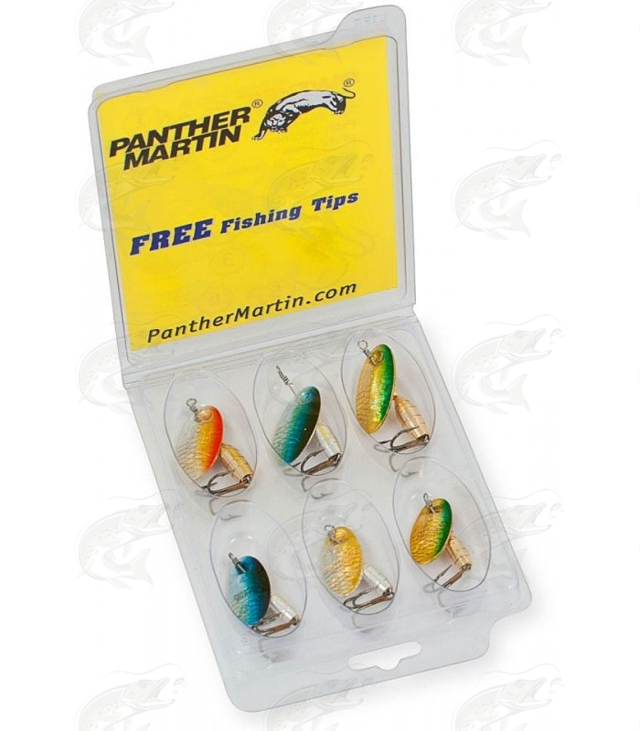 Panther Martin Holographic Deluxe 6-pack