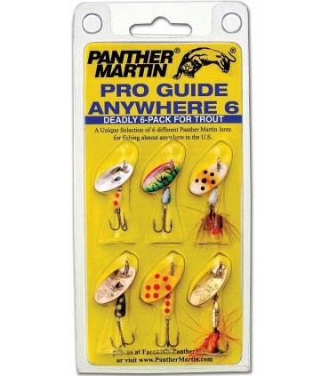 Panther Martin Pro Guide Anywhere 6-pack