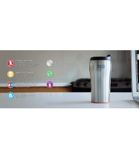 Termos Mighty Mug Solo SS: Stainless Steel Silver