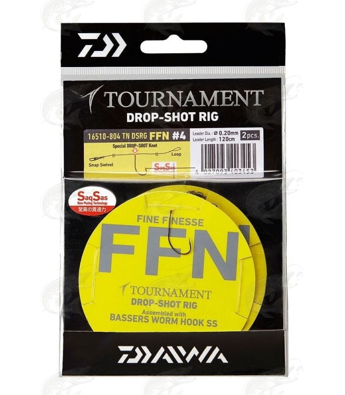 Daiwa Tournament Drop Shot rakendus FFN