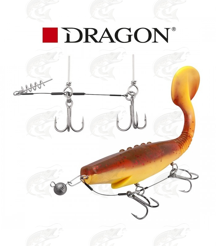 "Kummilantide rakendus ""Team Dragon Shallow Stinger Rig"""