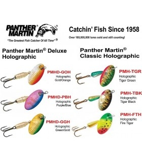Panther Martin pöörlevad landid