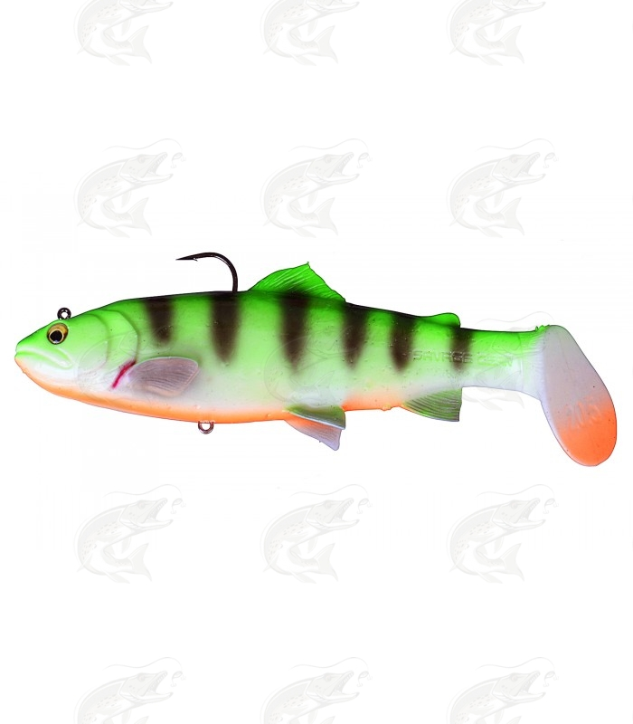 Savage Gear 3D Trout Rattle Shad   Fire Tiger