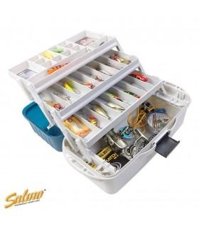 Kolme riiuliga kalastuskast SALMO